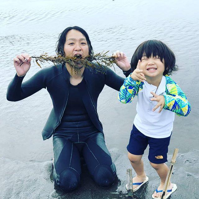 鴨川 マルキでサーフィン&海水浴 今日は、火曜日、blueお休みでした。#hairsalonblue#白岡市美容室 #サーフィン#海水浴