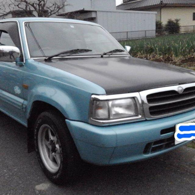 たまには、bluemotorsの投稿です。FOR SALE  45万円。 mazdaプロシードキャブプラス 平成9年式 希少です走行13万キロ 車検2年7月まで。ハワイに旅行にいって、トラックにはまりました。 トラック楽しいですよ。#bluemotors#プロシードキャブプラス#プロシード#forsale #トラック#逆輸入#マツダ#エクステンドキャブ#ハワイトラック #ハワイアントラック
