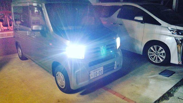 またまた、bluemotorsです。本日寒くて美容室が暇だったので、車屋です。N-van  ナビ取り付け バックカメラ取り付け スピーカー取り付け  ETC取り付け ドライブレコーダー取りつけ LEDライト取り付けご用命ありがとうございます。 ばっちり仕上げました。#bluemotors #n-van#ナビ取り付け#ドライブレコーダー取り付け